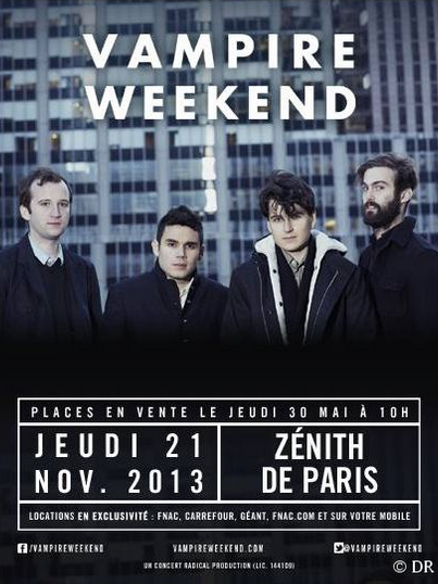 Vampire Weekend au Zénith de Paris