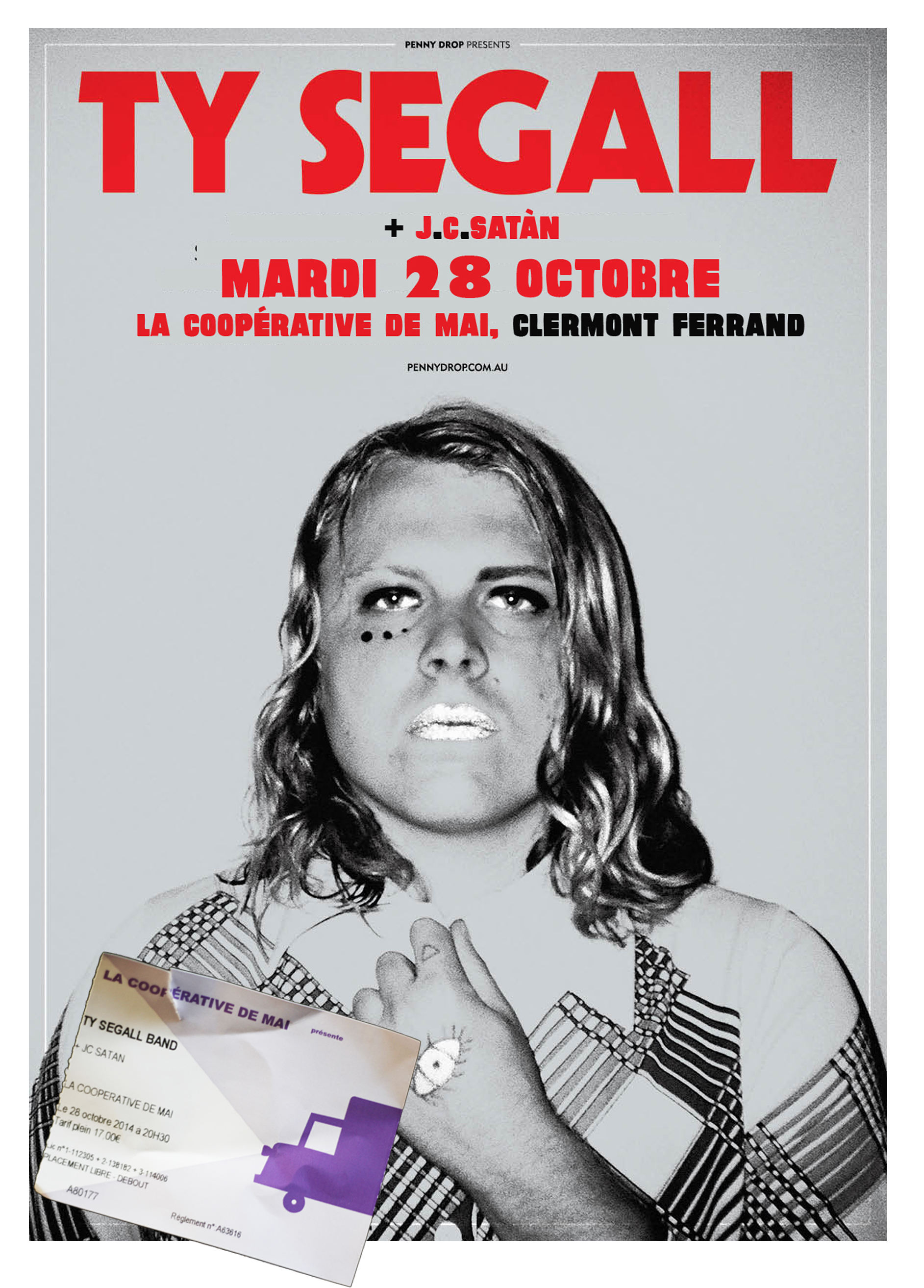 Ty Segall Tour Clermont Fd 2