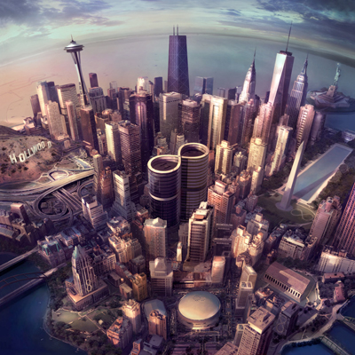 foo fighters sonic highways critique review album nate mendel chris shiflett taylor hawkins pat smear dave grohl rca roswell records rock rami jaffee 2014