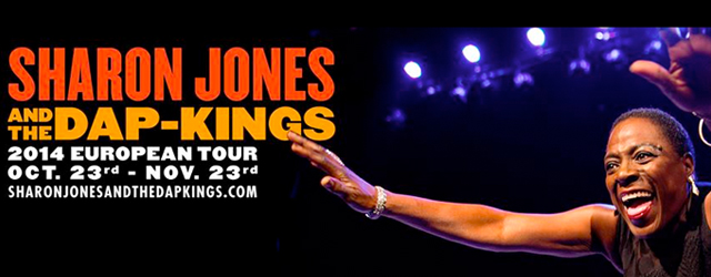 sharon jones & the dap kings european tour 2014