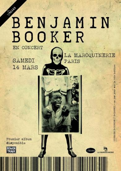 Benjamin Booker live @ La Maroquinerie