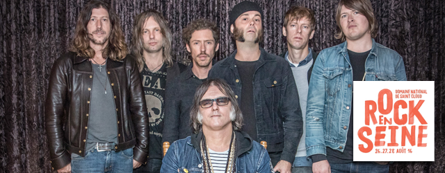 The Brian Jonestown Massacre Rock en Seine 2016 festival Paris