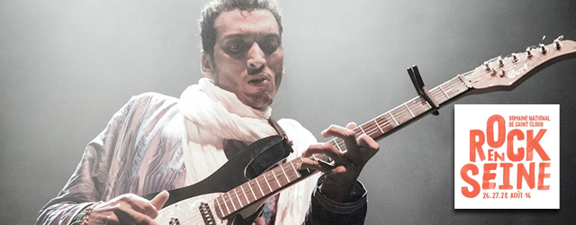 Bombino Rock en Seine 2016 festival Paris