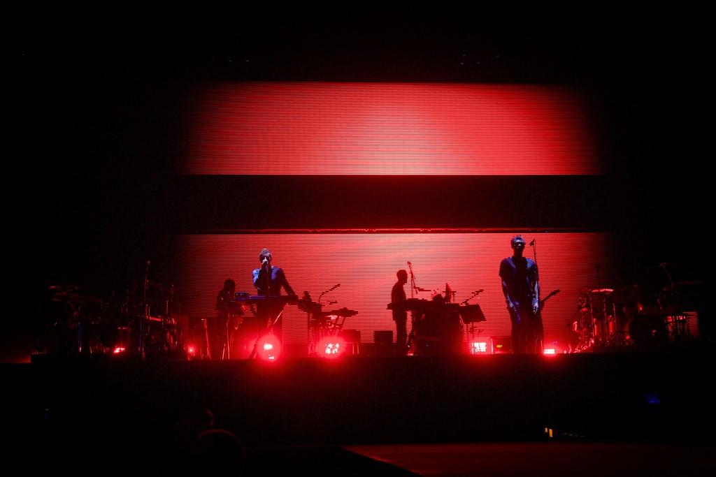 Massive Attack Rock en Seine 2016 Live Concert Festival Christophe Crénel