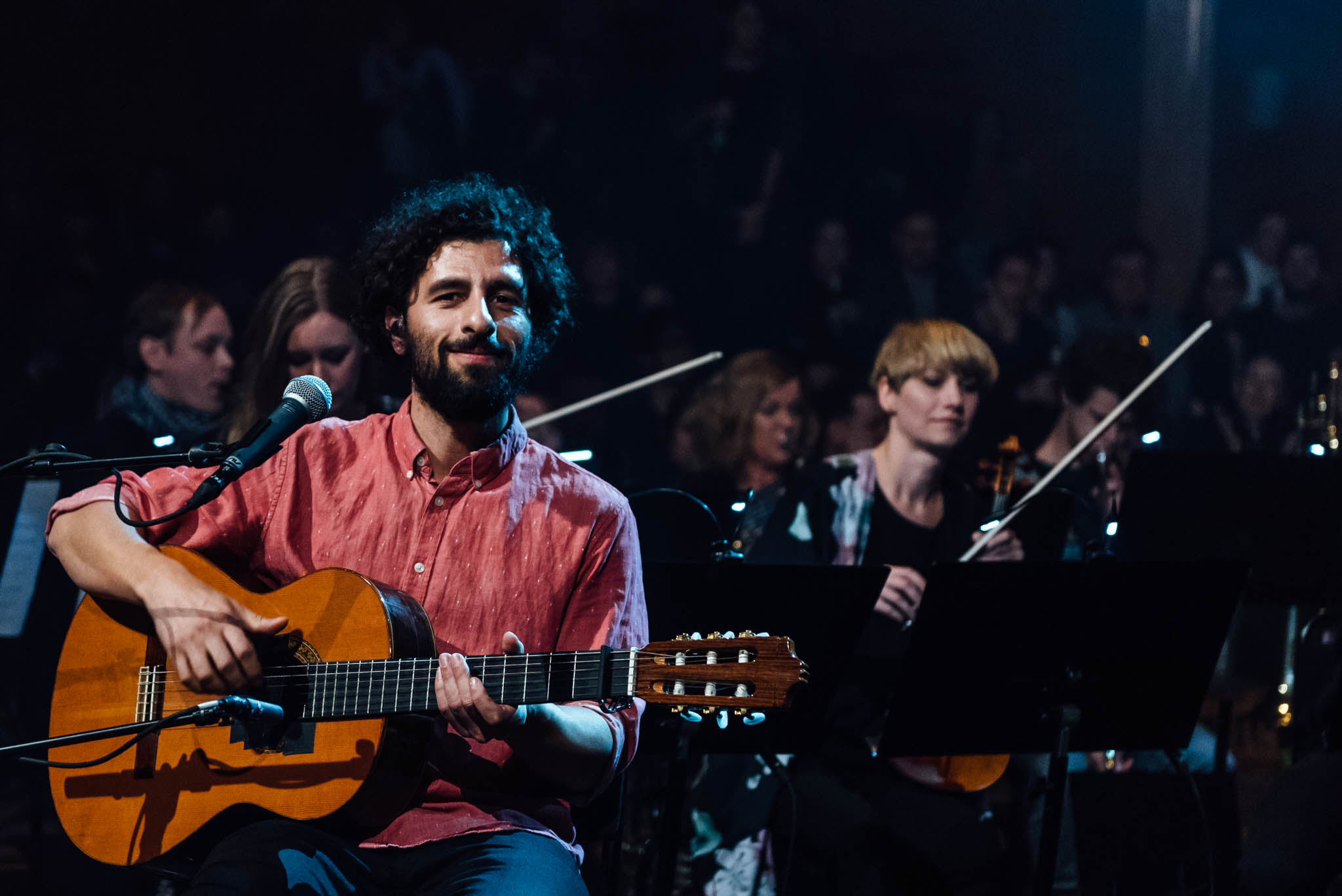 José González with the String Theory par Markus Werner