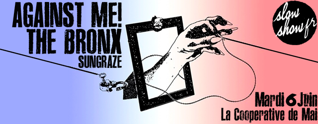 punk rock hardcore against me! the bronx pop sungraze 2017 rue serge gainsbourg concours concert
