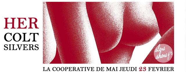 her colt silvers concert la coopérative de mai clermont-ferrand février 2017