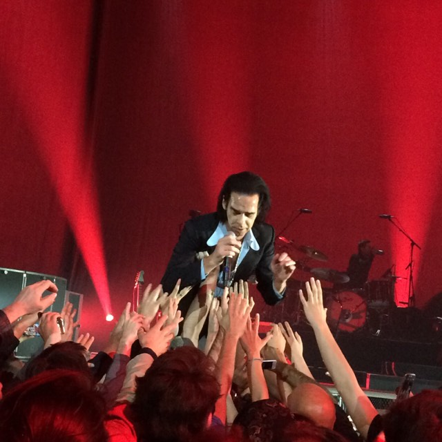 Nick Cave & The Bad Seeds au Zénith de Paris le 3 Octobre 2017 par Sylvie Guillaume