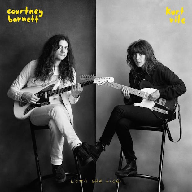 "Courtney Barnett & Kurt Vile ""Lotta Sea Lice"""