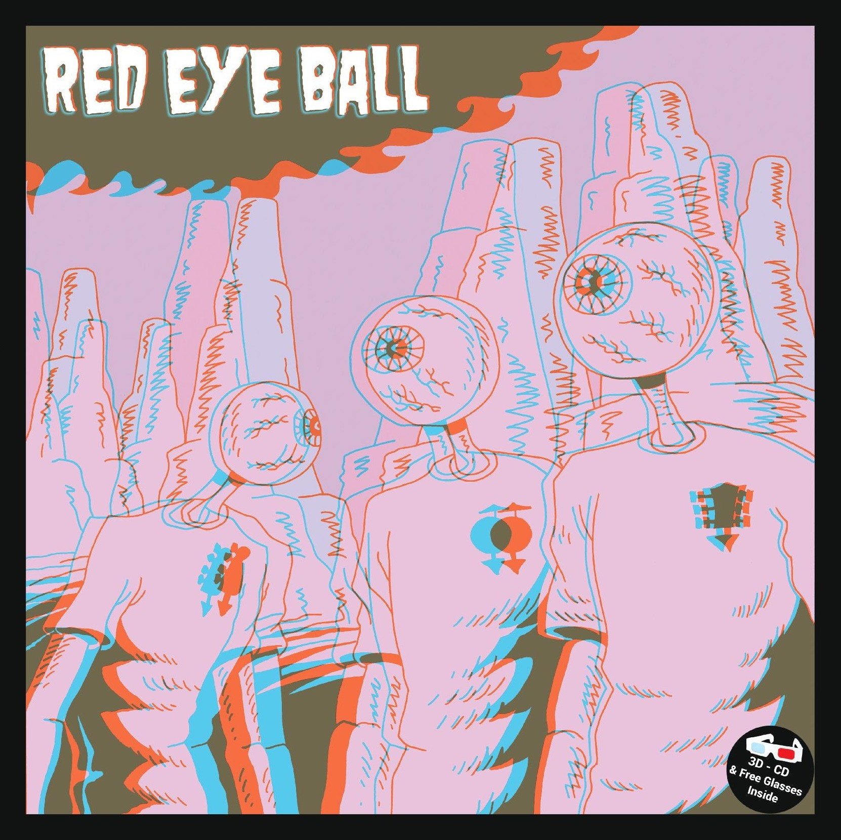 "Red Eye Ball ""S/T"""