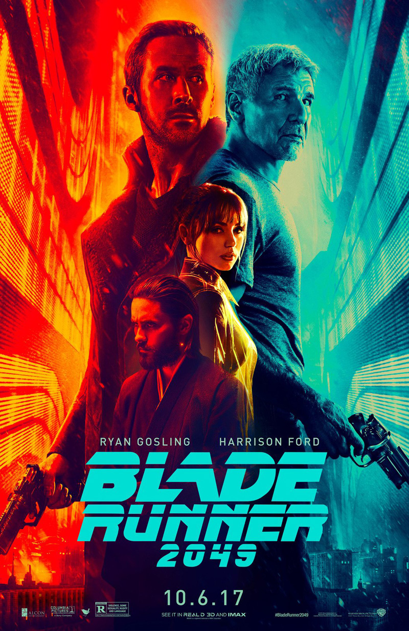 ridley scott denis villeneuve 2017 blade runner 2049 critique review chronique hampton fancher michael green hans zimmer benjamin wallfisch rick deckard harrison ford ryan gosling jared leto robin wright david bautista