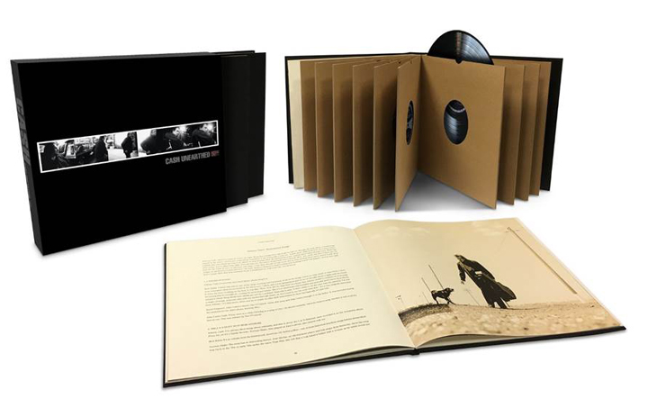 2003 2017 johnny cash rick rubin ume american recordings trouble in mind redemption songs folk country vinyle vinyl boxset coffret box book livre john carter cash june nick cave joe strummer