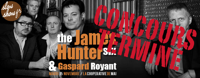 James Hunter Six et Gaspard Royant à la Coopé nov 2016 2
