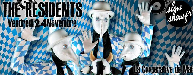 clermont-ferrand 2017 novembre vendredi avant-garde rock experimental concours live concert the residents coopérative de mai rue serge gainsbourg