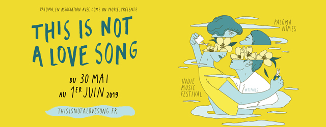 tinals this is not a love song 2019 festival rock punk hip-hop rap soul electro nîmes come on people paloma
